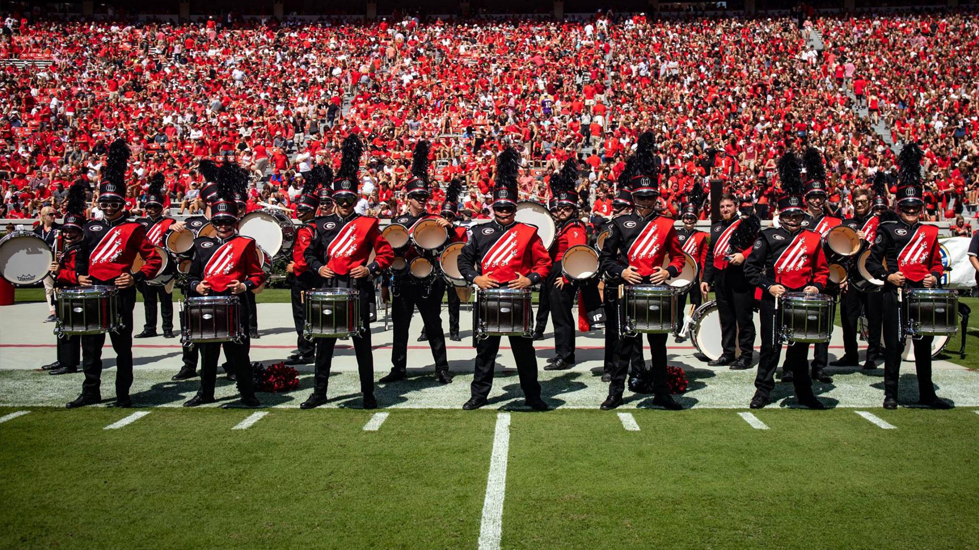 Redcoat Marching Band - University of Georgia Athletics